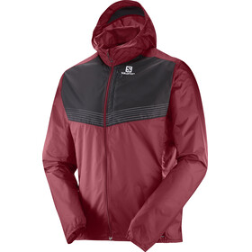 Salomon Fast Wing Aero Jacket Men Biking Red